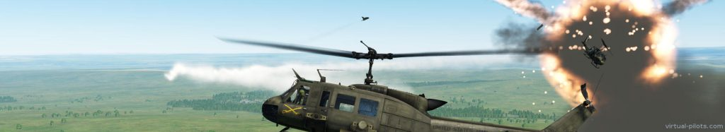 Two UH-1s were downed