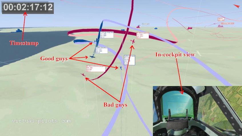 тактика воздушного боя второй мировой