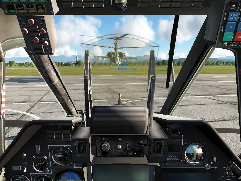 DCS World: our flight for basic skills training on ka-50