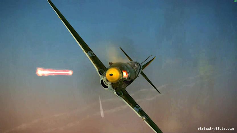 Il-2 Sturmovik: My First kill on Tactical Air War Server (Lagg-3)