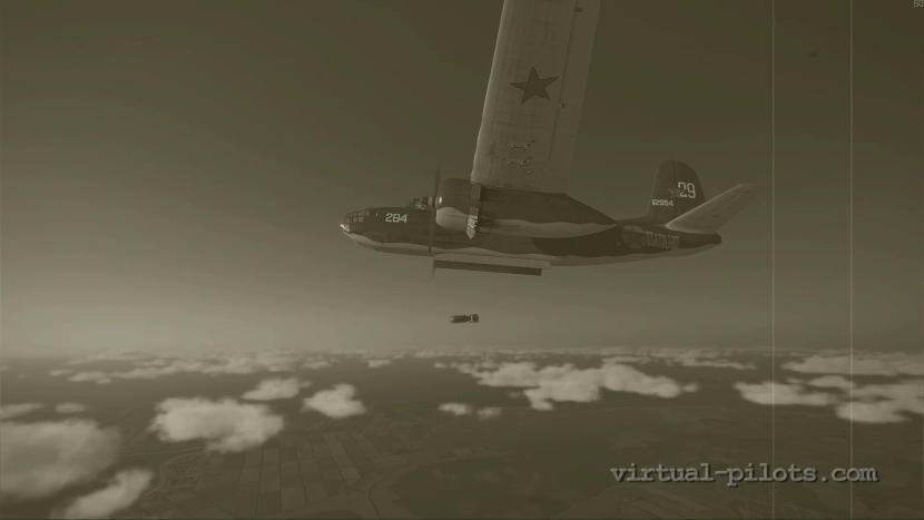 A-20B Bostons: long-range bombing raid