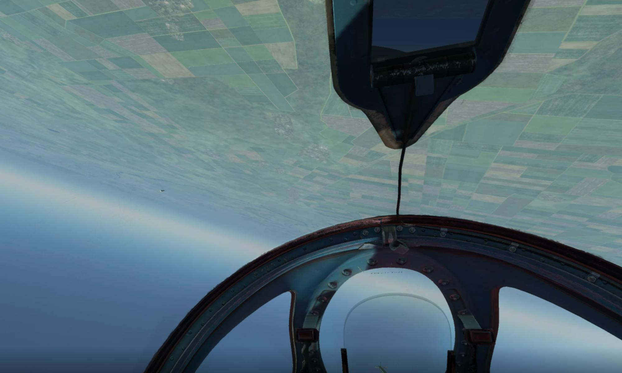 DCS World: Миг-21бис – отработка маневров парой