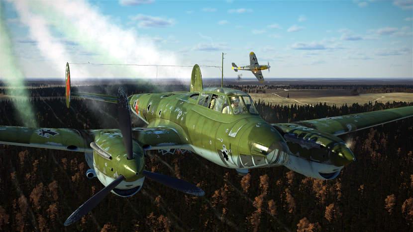 Плотный строй бомбардировщиков