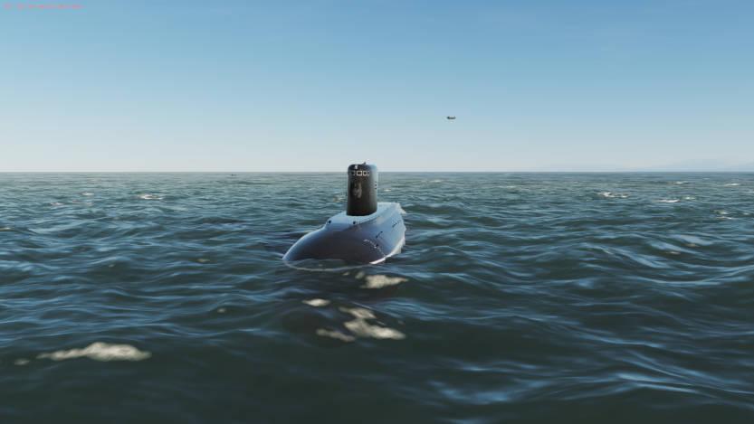 DCS онлайн миссия: подводная лодка