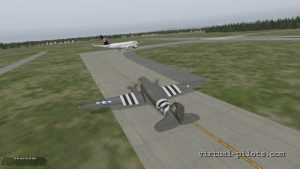 X-Plane: my first flight in IVAO