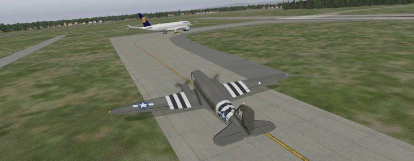 Мой первый полет в IVAO на С-47 (X-Plane 11)