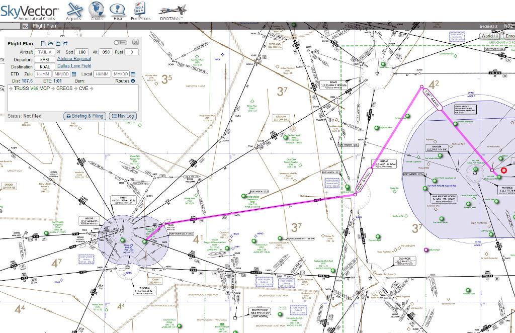 IFR shared cockpit flight in VATSIM