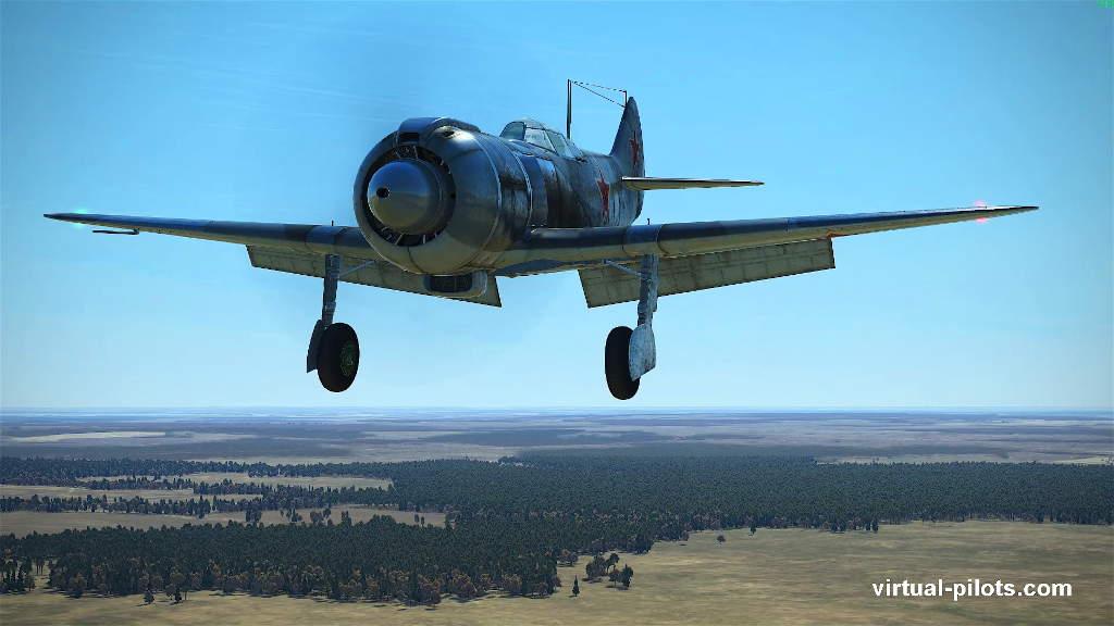Посадка на Ла-5 в Ил-2 Штурмовик