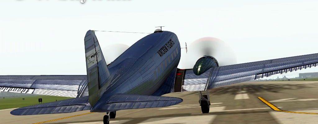 C-47 Short Ferry Flight
