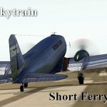 C-47 Short Ferry Flight