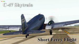 VSKYLABS C-47 Short Ferry Flight CYUL – CYHU in IVAO [VIDEO]