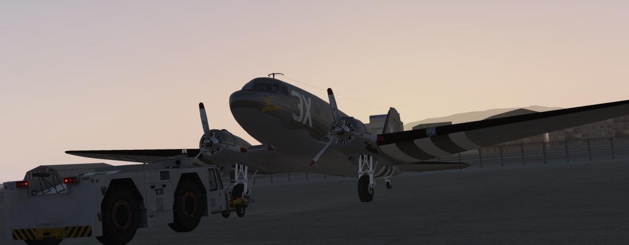 Вокруг света на самолете C-47 Skytrain