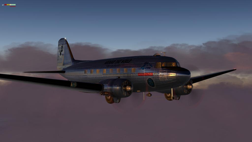around the world on c-47 Skytrain