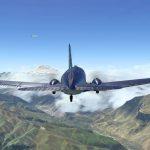 Короткий полет разомкнутым строем на двух C-47 в X-Plane