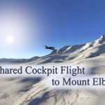 Shared Cockpit Flight to Mount Elbrus on Yak-18T