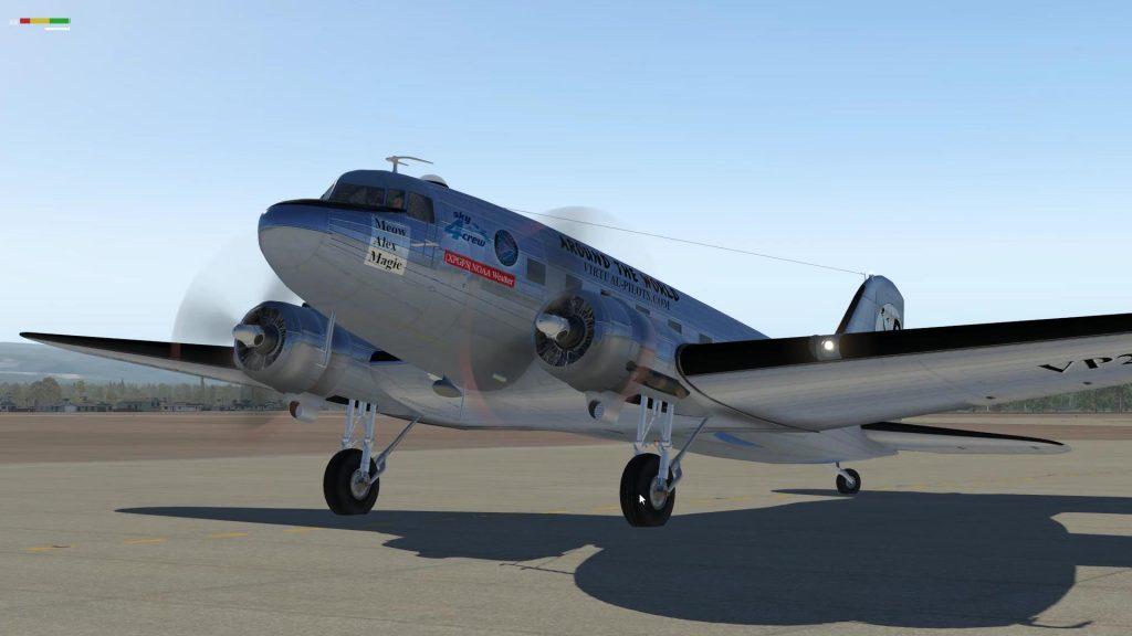 Вокруг света на C-47