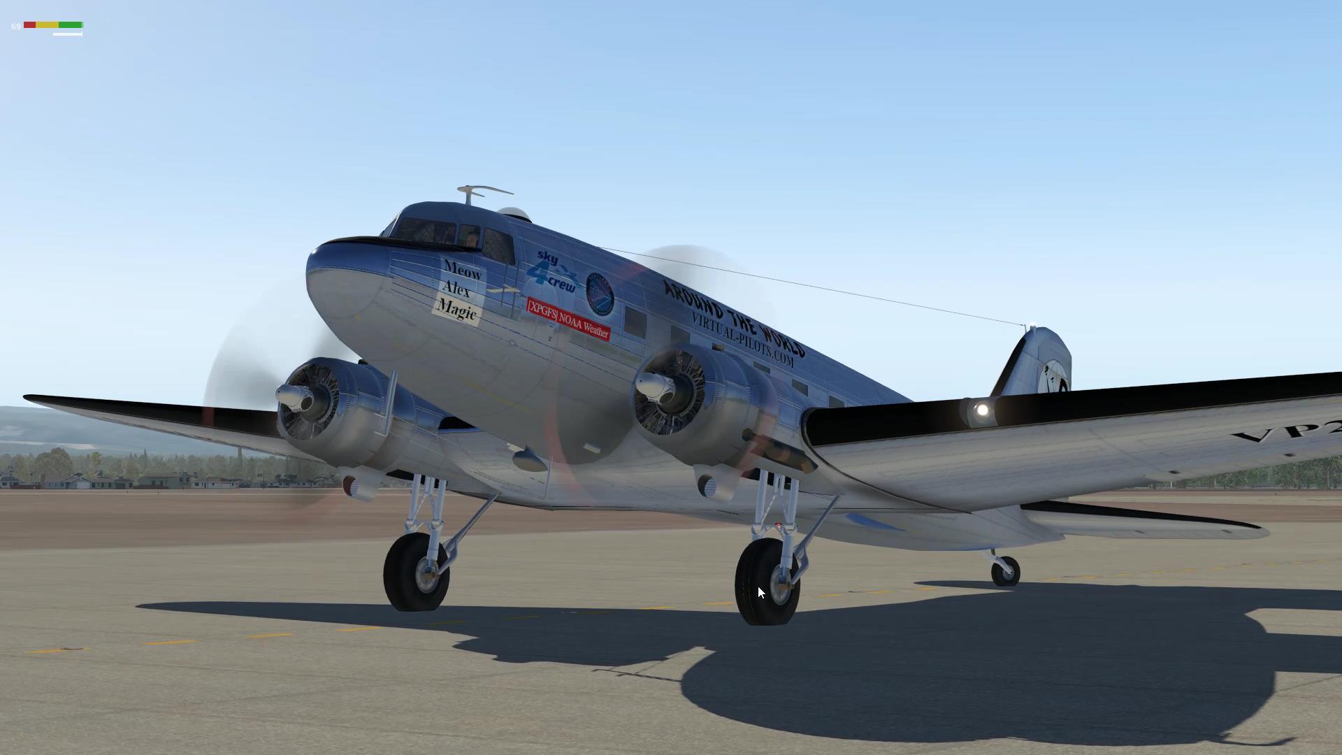 Нальчик — Элиста. Вокруг света на C-47