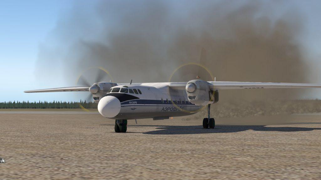 Ан-24 x-plane