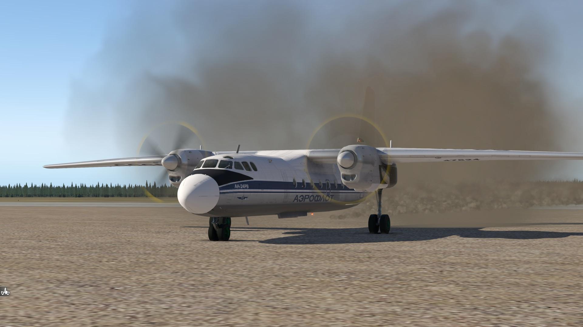 Разная техническая информация по Ан-24 для разработчиков