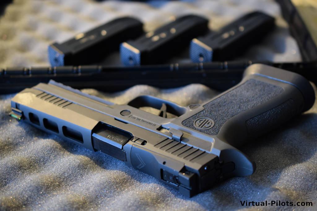 9 мм пистолет Sig Sauer X-Five Legion