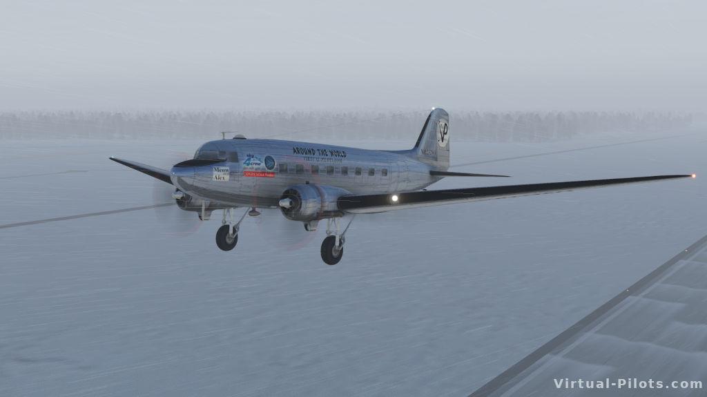 снег X-Plane 11