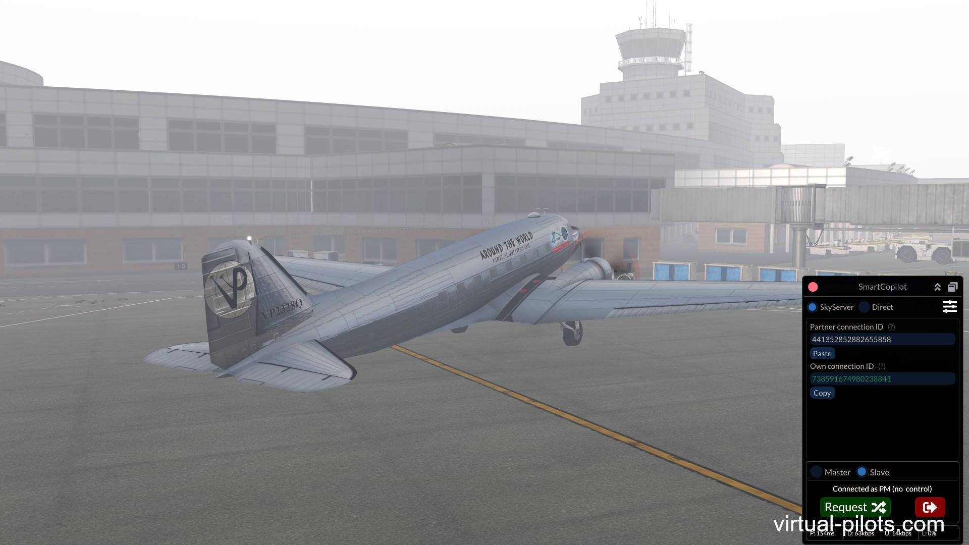 Наш первый stream: Полет по приборам на C-47 UUBP — UMMS